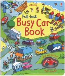 PULL-BACK BUSY CAR BOOK