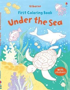 UNDER THE SEA-FIRST COLORING B