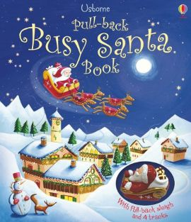 PULL-BACK BUSY SANTA BOOK