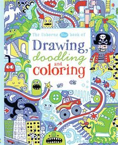 THE USBORNE BLUE BOOK OF DRAWI