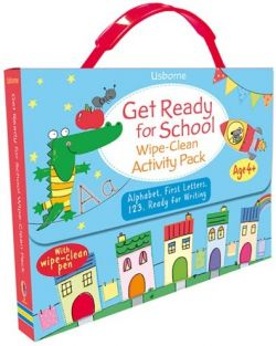 GET READY/SCHOOL WIPE-CLEAN ACTIVITY PK