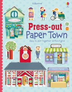 (SALE)PRESS-OUT PAPER TOWN BOO