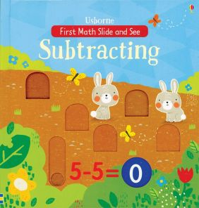 SUBTRACTING-FIRST MATH SLIDE &