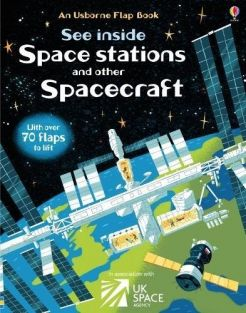 SEE INSIDE SPACE STATIONS/SPAC