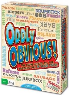 ODDLY OBVIOUS PARTY GAME