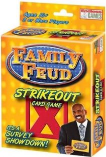 FAMILY FEUD STRIKEOUT CARD GAM