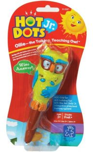 HOT DOTS JR. OLLIE/TALKING OWL