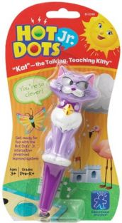 HOT DOTS JR. KAT THE TALKING,