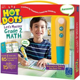 HOT DOTS LET'S MASTER GRADE 2 MATH