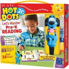 HOT DOTS JR LET'S MASTER PRE-K READING