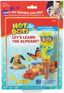 HOT DOTS JR. LET'S LEARN THE ALPHABET