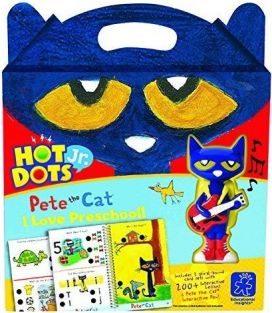 HOT DOTS JR PETE/CAT: I LOVE PRESCHOOL!