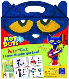 HOT DOTS JR PETE/CAT I LOVE KINDERGARTEN