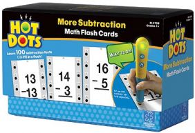 HOT DOTS MATH FLASH CARDS-MORE