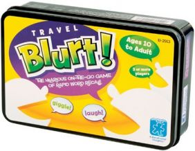 TRAVEL BLURT! GAME
