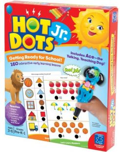 HOT DOTS JR. GETTING READY FOR SCHOOL