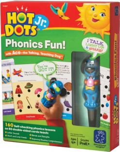 HOT DOTS JR. PHONICS FUN! SET