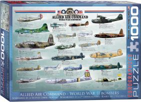WWII BOMBERS 1000PC