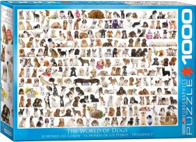 THE WORLD OF DOGS 1000-PIECE P