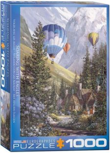 SOARING WITH EAGLES 1000PC