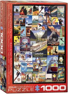 CANADIAN PACIFIC COLLAGE 1000P