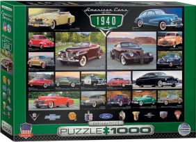 AMERICAN CARS OF THE '40s 1000PC