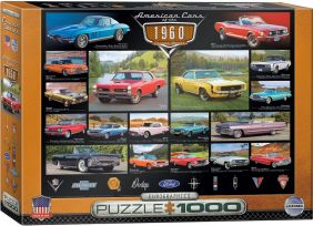 AMERICAN CARS OF THE 60'S 1000