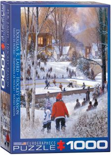 LAIRD-HOCKEY SEASON 1000PC