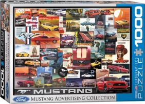 MUSTANG VINTAGE ADS 1000PC