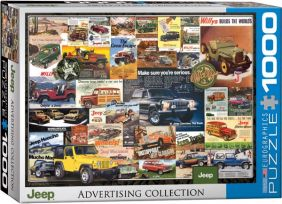 JEEP VINTAGE ADS 1000PC