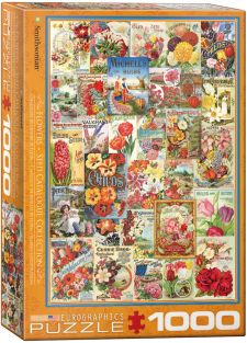 FLOWER SEED CATALOGS 1000-PIEC