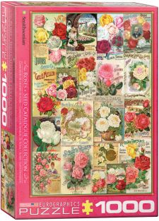 ROSE SEED CATALOGS 1000-PIECE