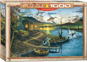 AUTUMN RETREAT 1000-PIECE PUZZ