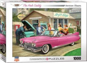 THE PINK CADDY 1000-PIECE PUZZ