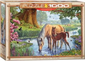 THE FELL PONIES 1000-PIECE PUZ