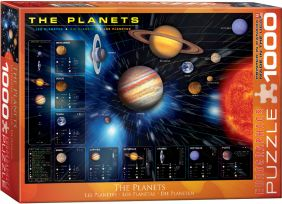 THE PLANETS 1000PC