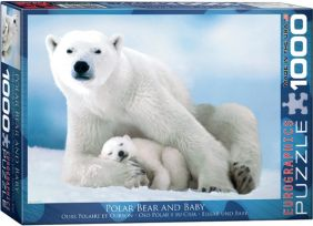 POLAR BEAR & BABY 1000PC