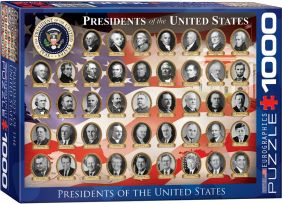 U.S. PRESIDENTS 1000PC
