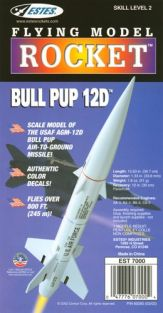 BULL PUP 12D ROCKET KIT