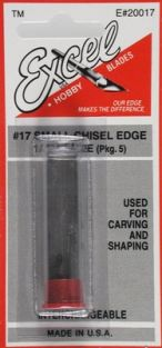 #17 CHISEL EDGE BLADE 5-PACK #