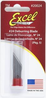#24 DEBURRING BLADES 5-PACK #2