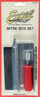 METAL MITRE BOX & RAZOR SAW SE