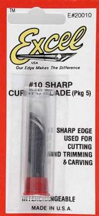 #10 CURVED EDGE BLADES (5-PACK