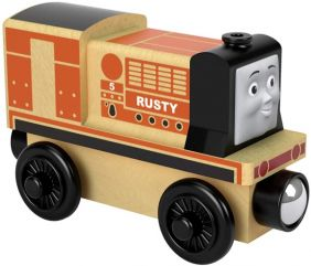 WOODEN RUSTY-THOMAS & FRIENDS