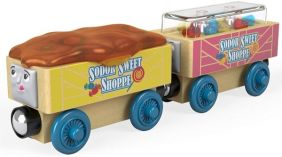 WOOD CANDY CARS-THOMAS & FRIEN