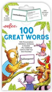 100 GREAT WORDS FLASH CARDS