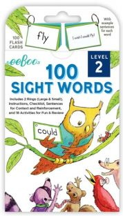 100 SIGHT WORDS LEVEL 2 FLASHCARDS