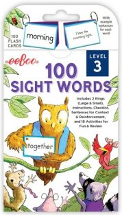 100 SIGHT WORDS LEVEL 3 FLASHCARDS