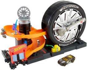 HOT WHEELS SUPER SPIN TIRE SHO