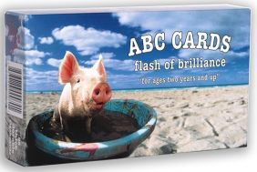 ABC SPAMMHY ON BEACH FLASHCARD